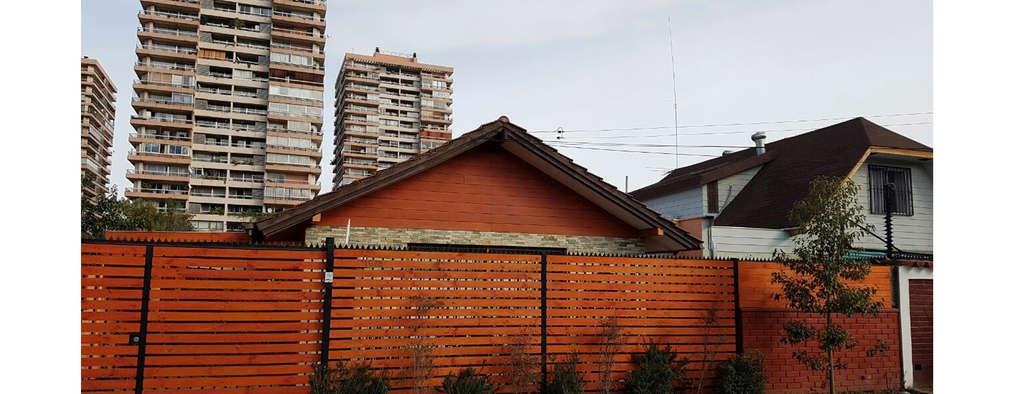 Casas de estilo moderno por NEF Arq.