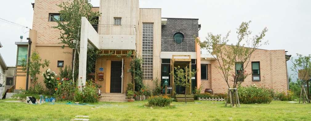 房子 by 규빗건축사사무소
