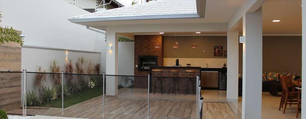 Casas de estilo moderno por Arquiteta Bianca Monteiro