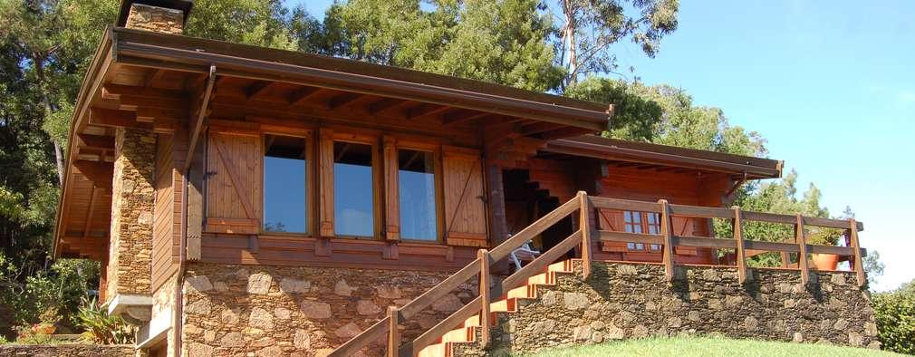 20 casas rústicas perfectas para un terrenito en el campo ya