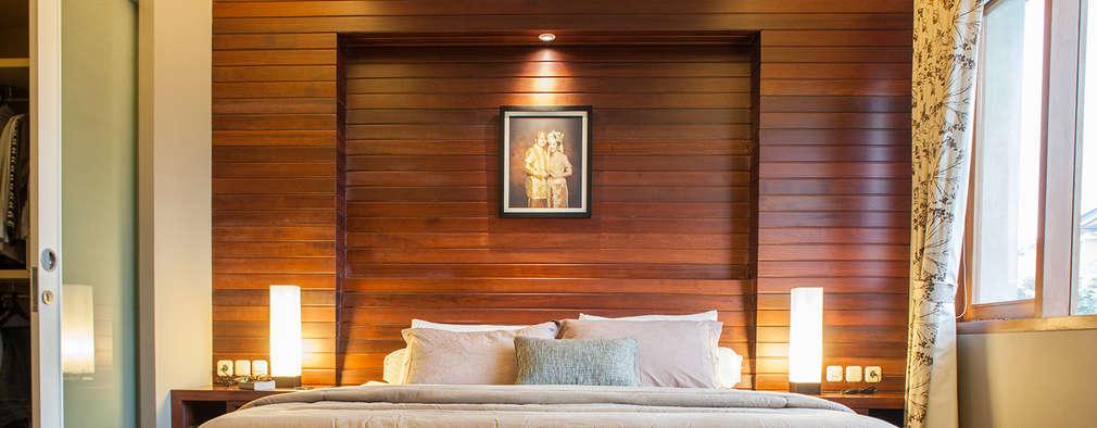 غرفة نوم تنفيذ Inspiratio Indonesia