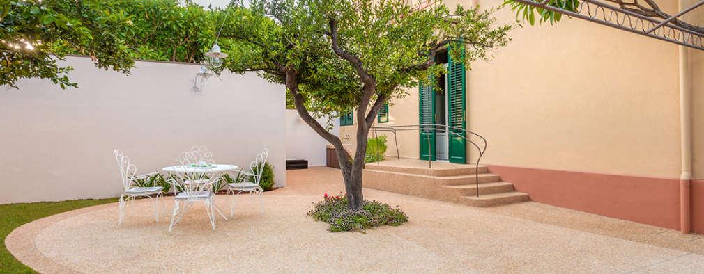 Jardines De Estilo Mediterráneo De Studio 4e