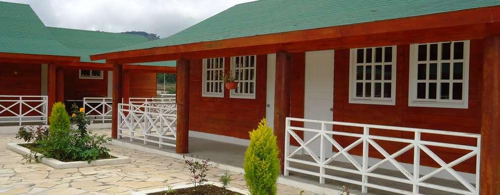 Projekty, klasyczne Domy zaprojektowane przez GRUPO CONSTRUCTOR RIO DORADO (MRD-TADPYC)