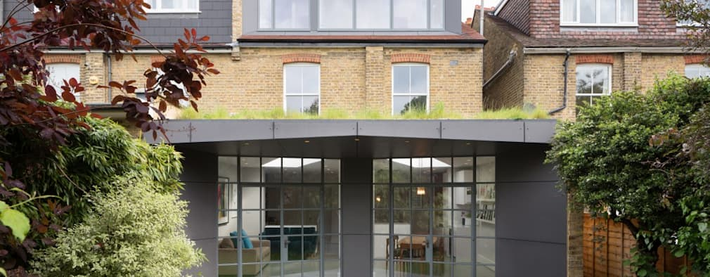 Patio: modern Garden by Fraher Architects Ltd