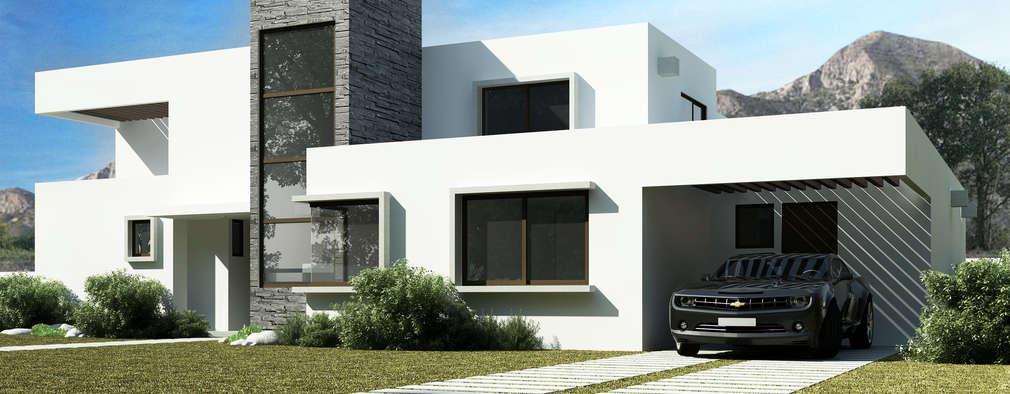 Casa Grilli: Casas de estilo mediterraneo por AOG SPA