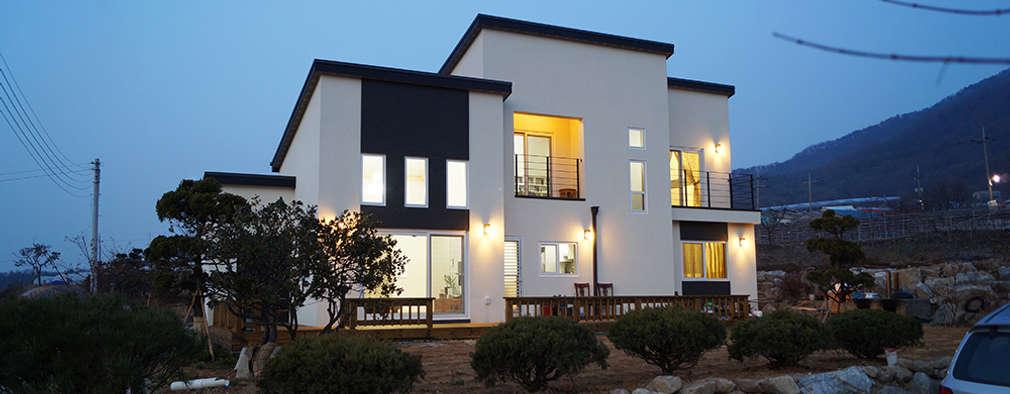 전원주택을 꿈꾸는 당신을 위한 현대식 목조주택