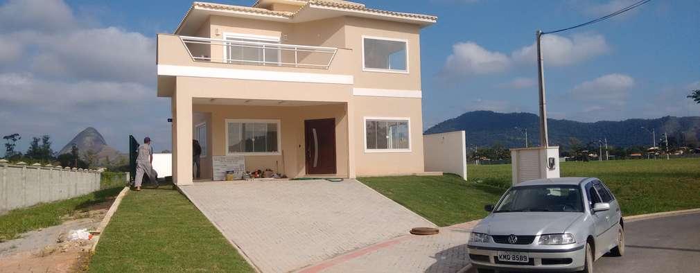 Casas de estilo clásico por Marcio Almeida - Arquitetura e Construção