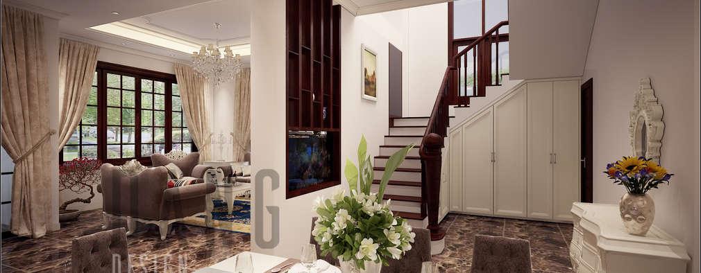 Thiết kế cầu thang:  Hành lang by DCOR
