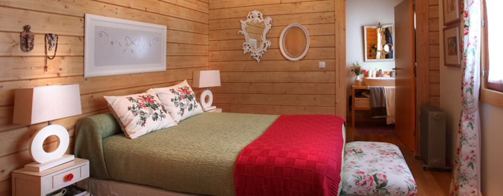 rustic Bedroom by Rusticasa