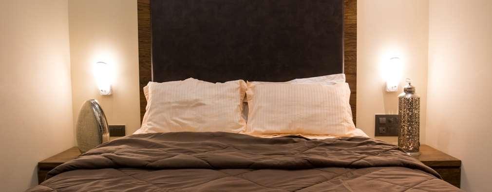 Singh Bunglow - Kalyan: modern Bedroom by Aesthetica