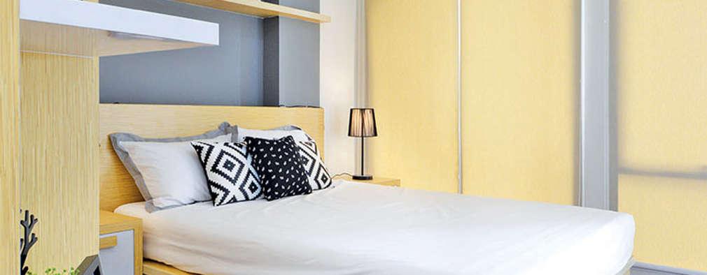 Studio Apartment - Bintaro Plaza Residence:  Kamar Tidur by RANAH