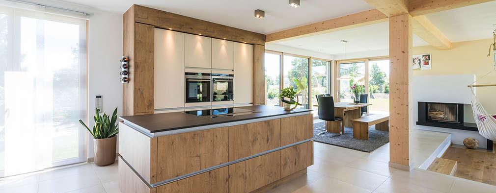 modern Kitchen by KitzlingerHaus GmbH & Co. KG