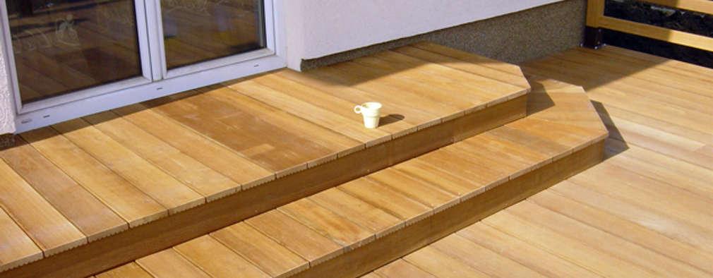 wie eine wundersch ne terrasse aus dem nichts entsteht. Black Bedroom Furniture Sets. Home Design Ideas