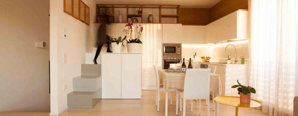 Cocinas de estilo minimalista de Marianna Porcellato Porvett