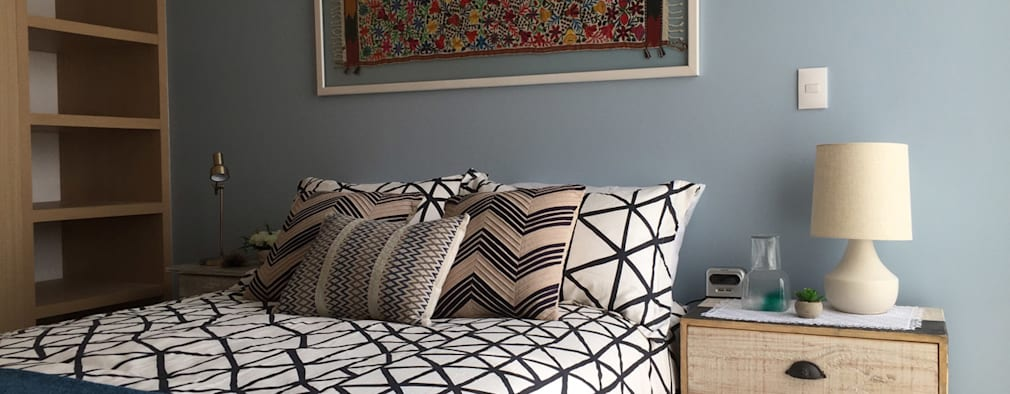 Choapan Decor: Recámaras de estilo moderno por Erika Winters Design