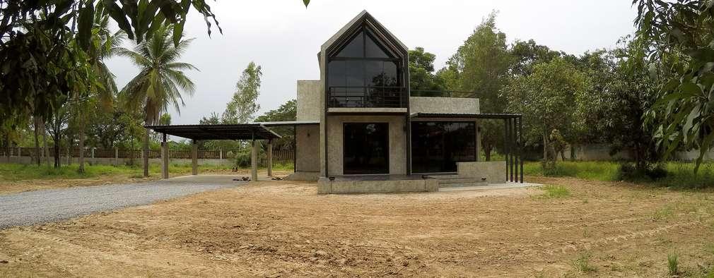 Casas de estilo moderno por Asap Home Builder