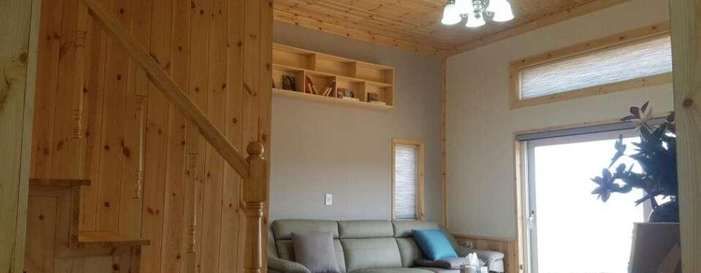 편리한 생활을 즐길 수 있는 조립식 목조 주택