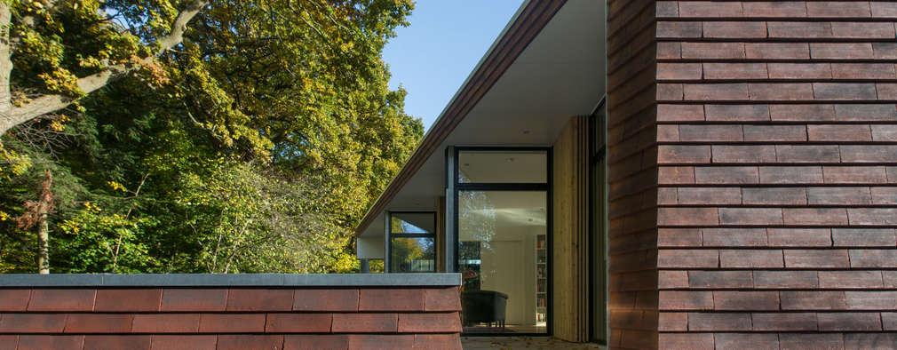 Skandinavischer bungalow  Moderner Bungalow im skandinavischen Stil
