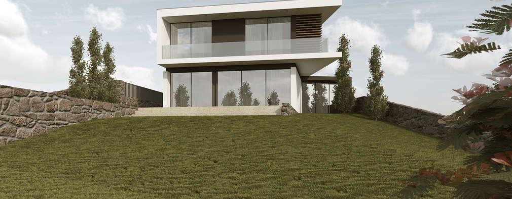 Guia sobre casas modernas em portugal for Casa y jardin revista