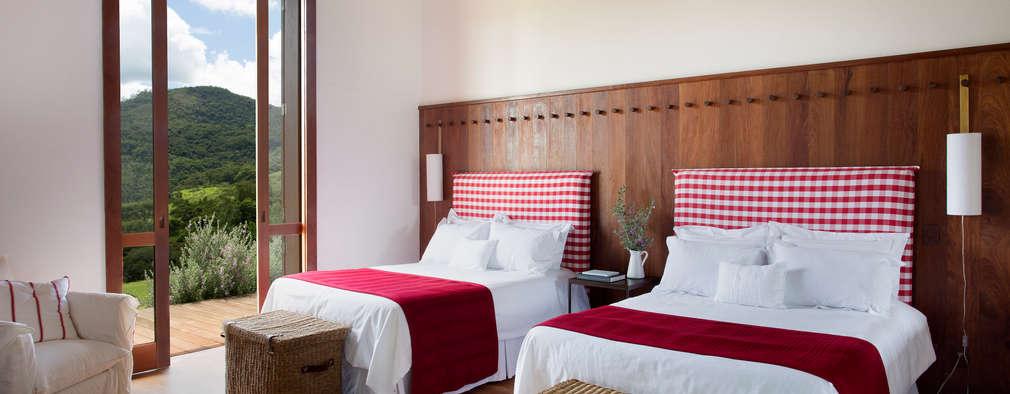 18 fascinantes dormitorios r sticos sencillos y modernos for Dormitorios rusticos modernos