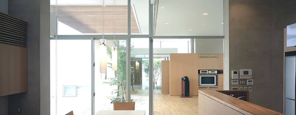 吉田の住宅: アトリエ環 建築設計事務所が手掛けたダイニングです。