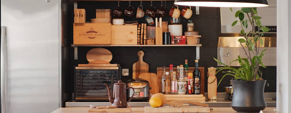 scandinavian Kitchen by 直方設計有限公司