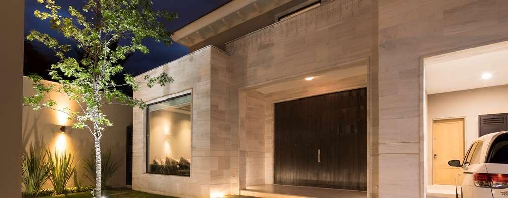 Casas de estilo moderno por Rousseau Arquitectos