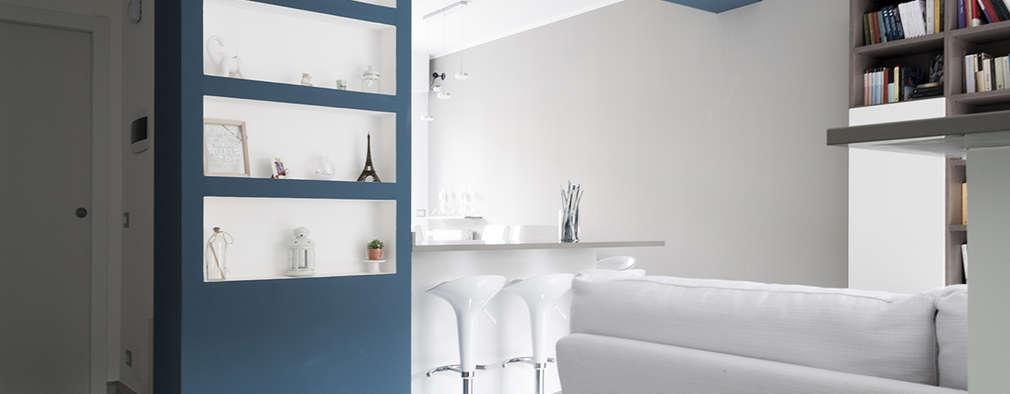 Salas de estilo moderno por Made with home