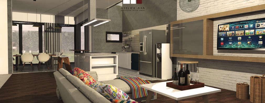 Charming G House: Ruang Keluarga By Atelier Ara