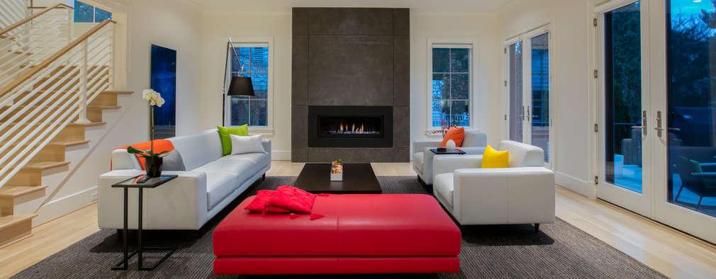 Ruang Keluarga by FORMA Design Inc.