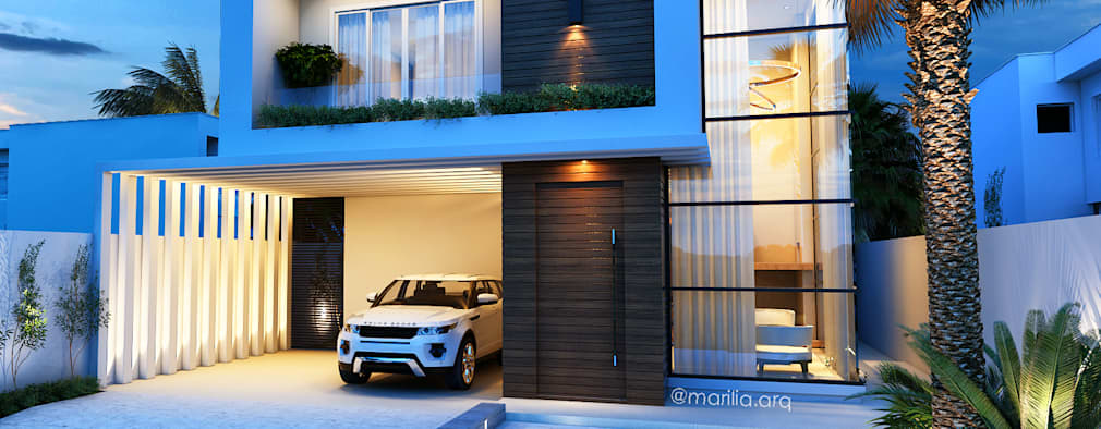 Rumah by Marilia Zimmermann Arquitetura e Interiores