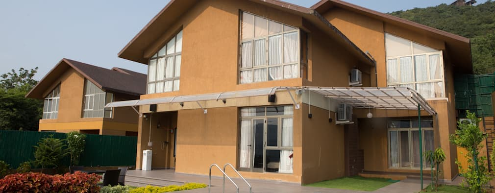 Bungalow- Lavasa:  Bungalows by Aesthetica