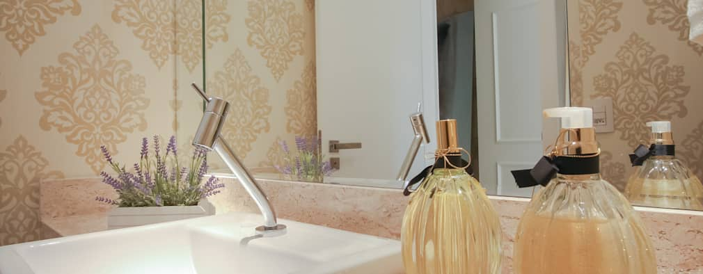 Ванные комнаты в . Автор – Factus Arquitetura Planejamento Interiores