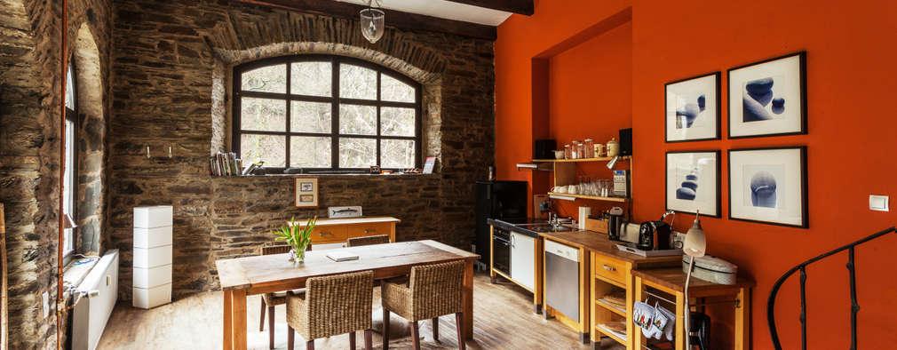 modern Dining room by 2kn architekt + landschaftsarchitekt Thorsten Kasel + Sven Marcus Neu PartSchG