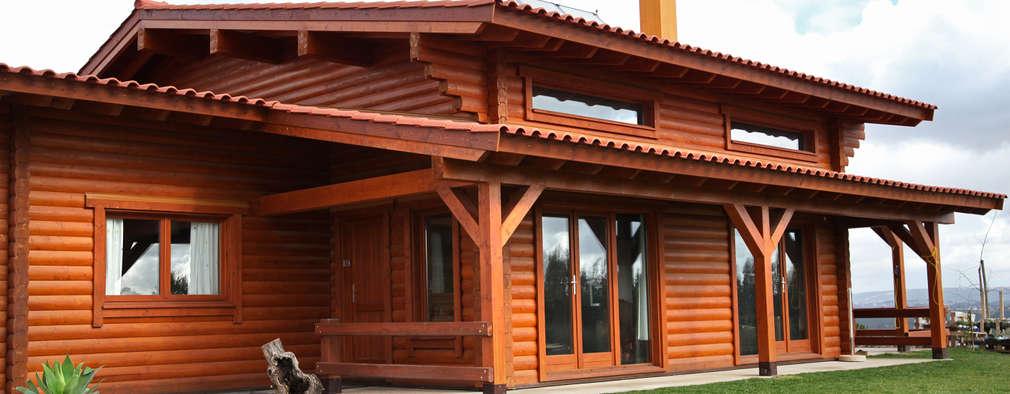 Casas de madera de estilo  de Rusticasa