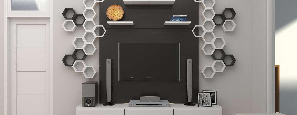 modern Living room by JSK STUDIO DESIGN