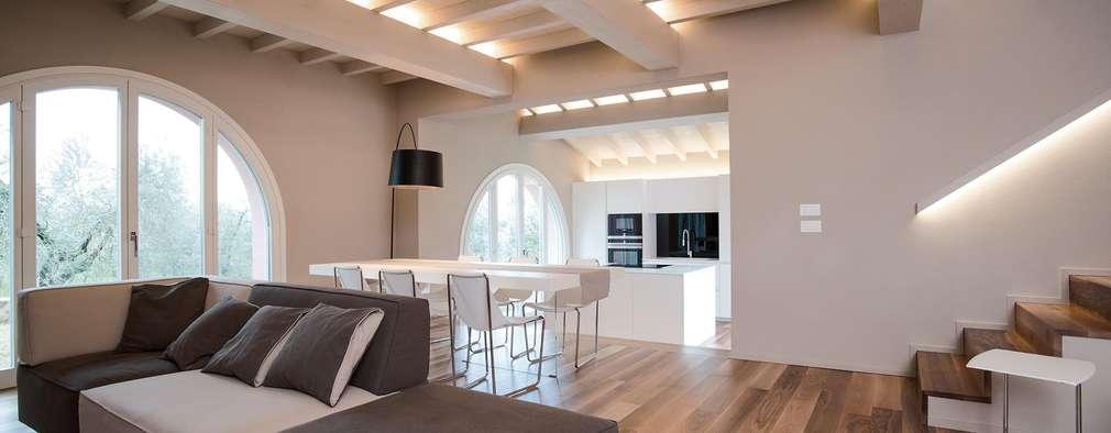 Projekty,  Salon zaprojektowane przez Rachele Biancalani Studio - Architecture & Design