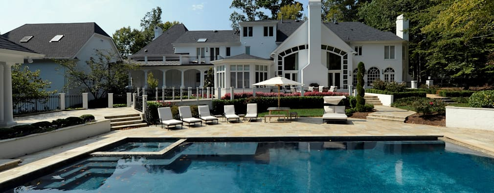Purchase Consultation and Whole House Renovation in Potomac, Maryland: classic Pool by BOWA - Design Build Experts