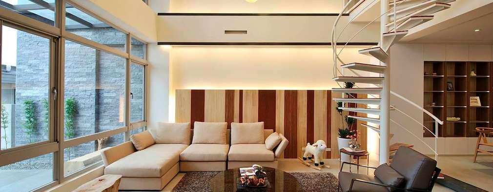 modern Living room by EO design studio