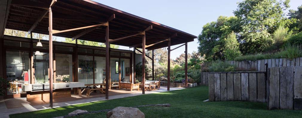 Casa Terraza: Jardines de estilo moderno por Dx Arquitectos