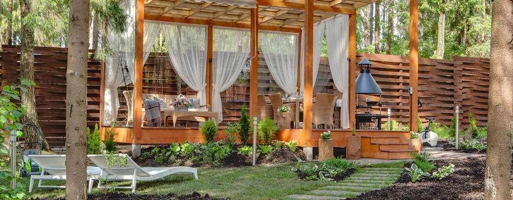 Jardin de style de style Moderne par Anastasia Yakovleva design studio