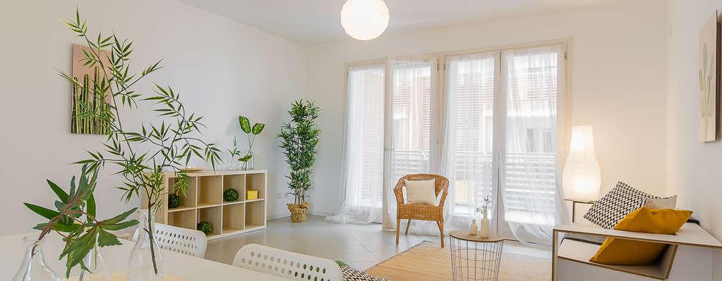 غرفة المعيشة تنفيذ Home Staging & Dintorni