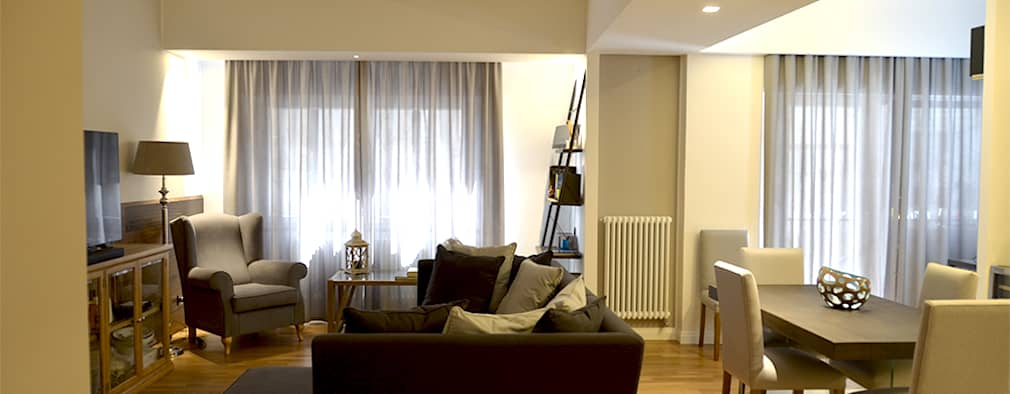 Livings de estilo moderno por danielainzerillo architetto&relooker