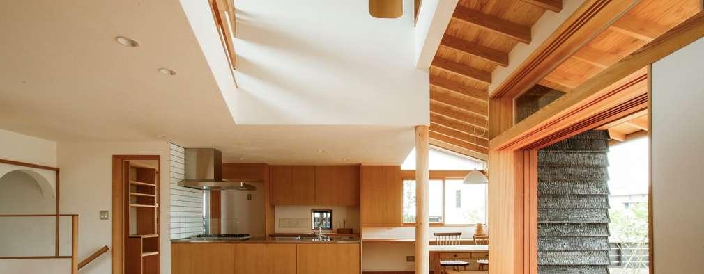 長崎 大村 /  焼杉の家: HAGが手掛けたリビングです。