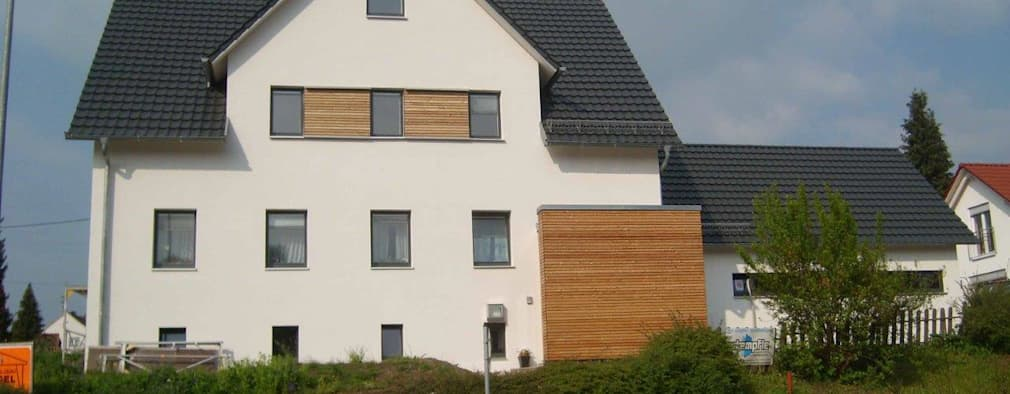 Modernisierung eines schicken zweifamilienhauses for Zweifamilienhaus modernisieren