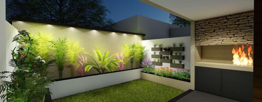 6 peque os jardines para peque as casas for Modelos jardines para casas pequenas