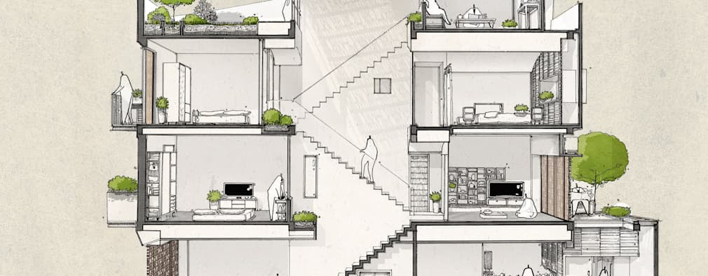 TRANSITING-STEP house:   by AD+
