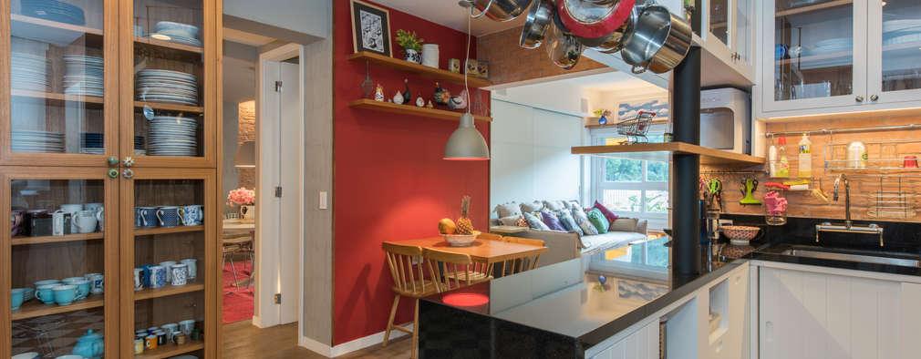 Apartamento Gávea: Cozinhas modernas por Espaço Tania Chueke