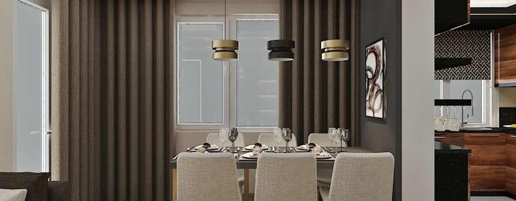 PRATIKIZ Mimarlık/ Architecture – Aker Evi- Antalya: modern tarz Yemek Odası