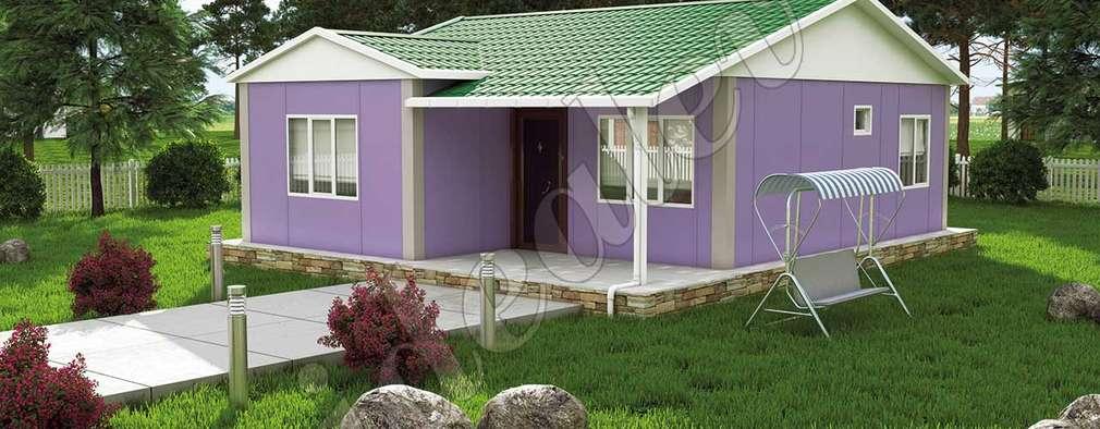 Prefabricated home by İdeal Ev (Prefabrik Evim)